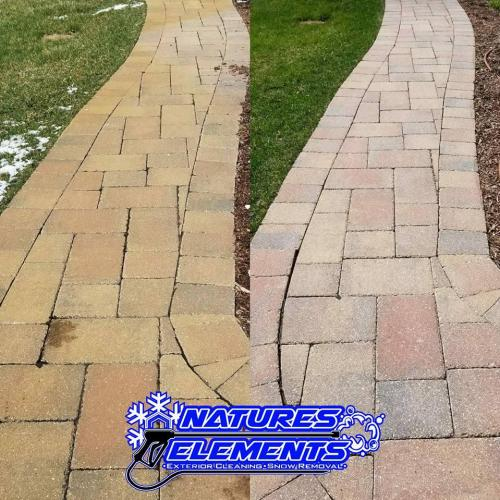 Sidewalk Rust Removal   www.natureselementsexteriors.com