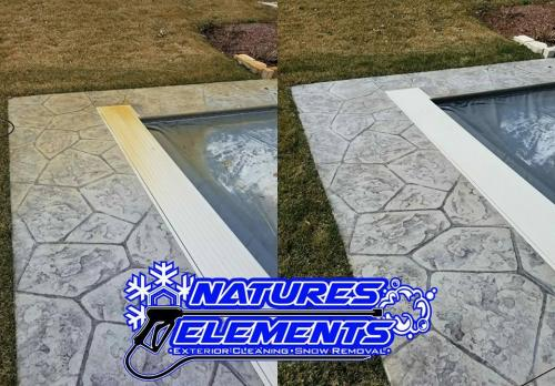 Pool Rust Removal   www.natureselementsexteriors.com