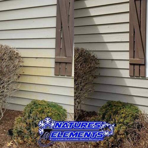 Siding Rust Removal   www.natureselementsexteriors.com
