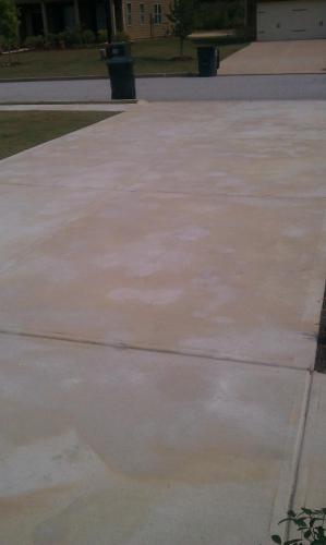 Damage From Other Concrete Rust Removers