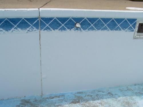 Rust Removal on Pool After